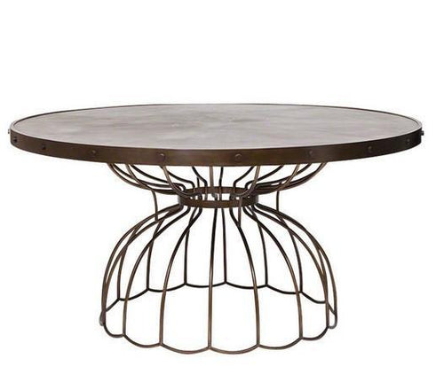 Florentine Round Dining Table - Benton and Buckley