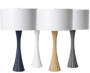 BARBARA COSGROVE | Fluted Table Lamp - GDH | The decorators department Store