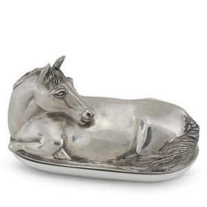 Horse Butter Dish - Benton and Buckley