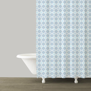 Marrakesh French Blue Shower Curtain - Benton and Buckley