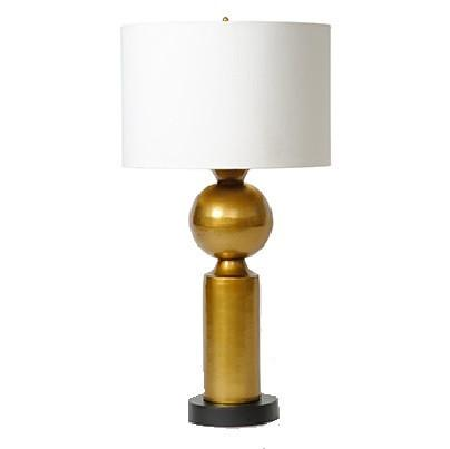 BARBARA COSGROVE | Brass Orb Table Lamp - GDH | The decorators department Store