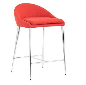 Reykjavik Counter Chair S/2 | Tangerine - Benton and Buckley