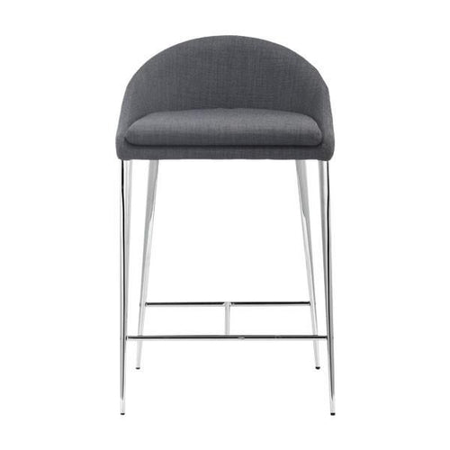 REYKJAVIK COUNTER CHAIR S/2 | Graphite - GDH | The decorators department Store