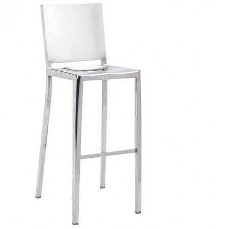 FALL BAR CHAIR STAINLESS STEEL - Benton and Buckley