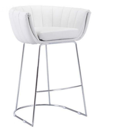 LATTE BAR CHAIR | White-Set of 2 - Benton and Buckley