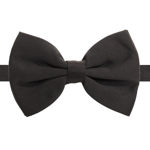 Gia Orange Satine Adjustable Bowtie