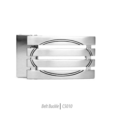 Ferrecci Men's Stainless Steel Removable Belt Buckle - C5057