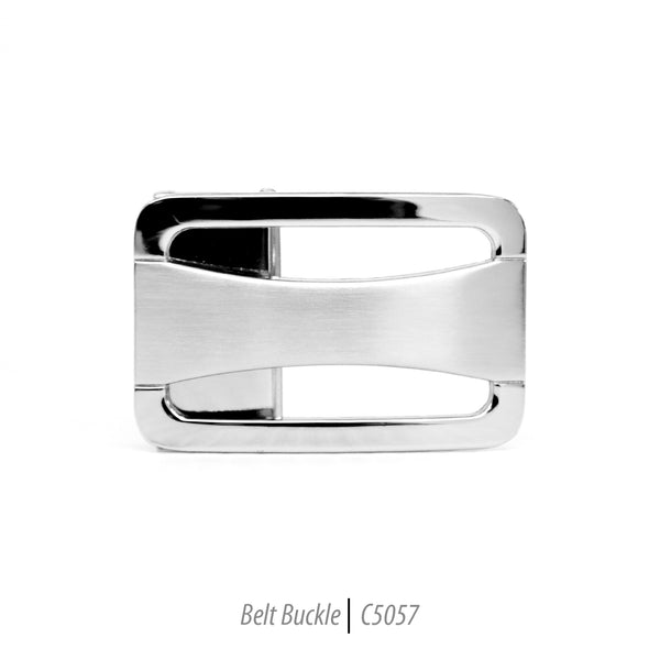 Ferrecci Men's Stainless Steel Removable Belt Buckle - C5057 - FHYINC best men's suits, tuxedos, formal men's wear wholesale