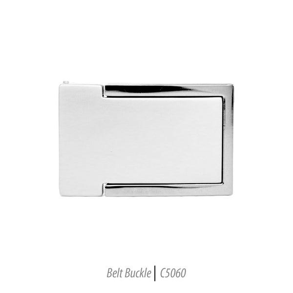 Ferrecci Men's Stainless Steel Removable Belt Buckle - C5060 - FHYINC best men's suits, tuxedos, formal men's wear wholesale