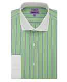 The Bentley Slim Fit Cotton Dress Shirt - FHYINC best men's suits, tuxedos, formal men's wear wholesale