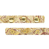 Luxury Paisley Tapestry Gold Bow Tie