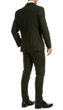 Bradford Hunter Green 3pc Tweed Suit - FHYINC