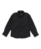 Boys Premium Cotton Blend Dark Colored Dress Shirts - FHYINC best men's suits, tuxedos, formal men's wear wholesale