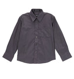 Ferrecci Boys Cotton Blend Charcoal Dress Shirt - FHYINC best men's suits, tuxedos, formal men's wear wholesale
