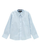 Boys Premium Cotton Blend Light Colored Dress Shirts - FHYINC best men's suits, tuxedos, formal men's wear wholesale