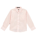 Ferrecci Boys Cotton Blend Light Pink Dress Shirt - FHYINC best men's suits, tuxedos, formal men's wear wholesale