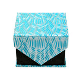 Men's Blue-Turquoise Organic Scattered Design 4-pc Necktie Box Set - FHYINC best men's suits, tuxedos, formal men's wear wholesale