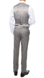 Celio Tux Premium Men's Slim Fit 3 pc Tuxedo Grey - FHYINC best men's suits, tuxedos, formal men's wear wholesale