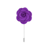 Clio 32 Purple Lapel Pin - FHYINC best men's suits, tuxedos, formal men's wear wholesale