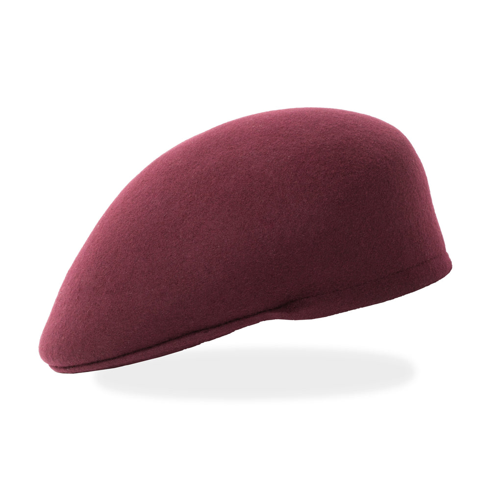Classic Premium Wool Burgundy English Hat - FHYINC best men