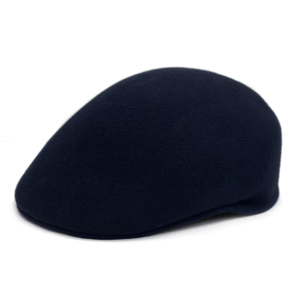 Classic Premium Wool Navy English Hat - FHYINC best men's suits, tuxedos, formal men's wear wholesale
