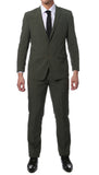 Etro Green Glen Plaid Slim Fit 2pc Suit - FHYINC best men's suits, tuxedos, formal men's wear wholesale