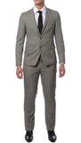 Etro Grey Glen Plaid Slim Fit 2pc Suit - FHYINC best men's suits, tuxedos, formal men's wear wholesale