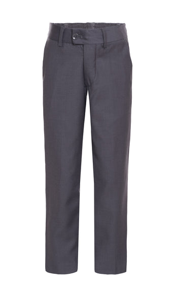 Ferrecci Boys Ezra Light Grey Dress Pants - FHYINC best men's suits, tuxedos, formal men's wear wholesale