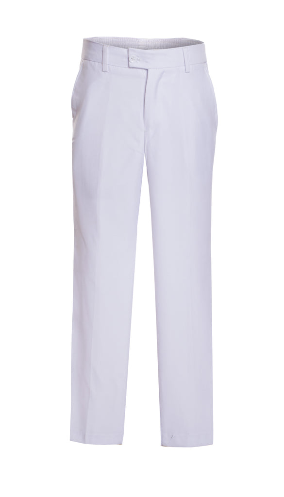 Ferrecci Boys Ezra White Dress Pants - FHYINC best men