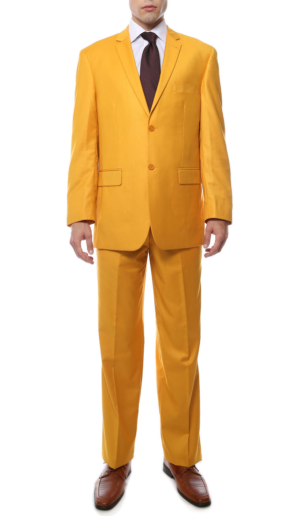 Premium FE28001 Mango Regular Fit Suit - FHYINC best men