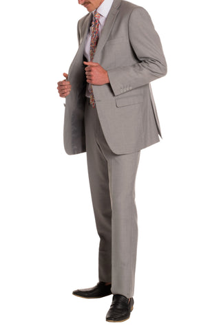 Light Grey Regular Fit Suit - 2PC - FORD