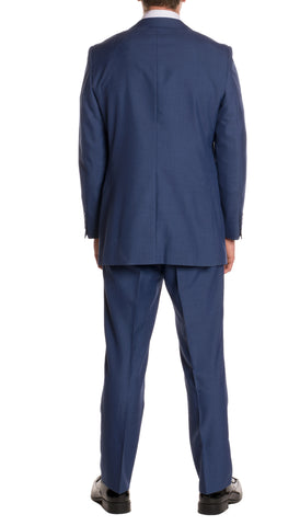 New Blue Regular Fit Suit - 2PC - FORD