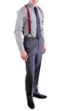 Charcoal Regular Fit Suit - 2PC - FORD - FHYINC best men's suits, tuxedos, formal men's wear wholesale