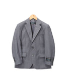 Boys Premium Medium Grey 2pc Suit - FHYINC best men's suits, tuxedos, formal men's wear wholesale