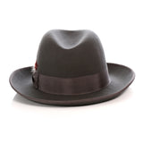 Premium Charcoal Godfather Hat - FHYINC best men's suits, tuxedos, formal men's wear wholesale
