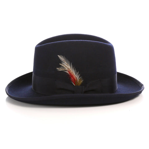 Premium Navy Godfather Hat