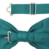 Gia Indigo Satine Adjustable Bowtie - FHYINC best men's suits, tuxedos, formal men's wear wholesale