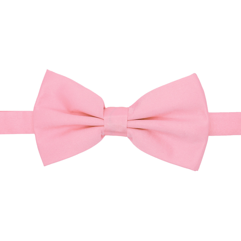 Gia Pink Satine Adjustable Bowtie - FHYINC best men