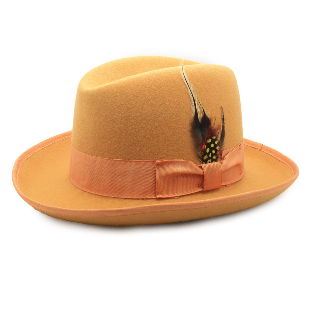 Premium Orange Godfather Hat - FHYINC best men