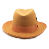 Premium Orange Godfather Hat - FHYINC best men's suits, tuxedos, formal men's wear wholesale