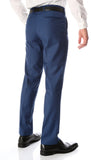 Ferrecci Men's Halo Indigo Slim Fit Flat-Front Dress Pants - FHYINC best men's suits, tuxedos, formal men's wear wholesale