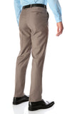 Ferrecci Men's Halo Taupe Slim Fit Flat-Front Dress Pants - FHYINC best men's suits, tuxedos, formal men's wear wholesale