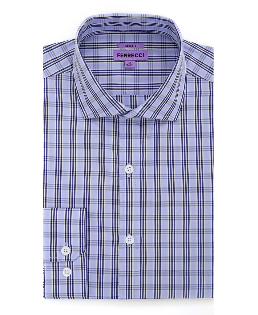 The Jagger Slim Fit Cotton Dress Shirt - FHYINC best men