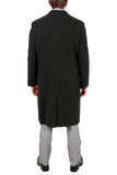 'Ken' Men's Wool Charcoal Top Coat - FHYINC best men's suits, tuxedos, formal men's wear wholesale