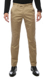 Zonettie Kilo Khaki Straight Leg Chino Pants - FHYINC best men's suits, tuxedos, formal men's wear wholesale
