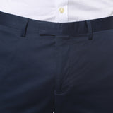 Zonettie Kilo Navy Straight Leg Chino Pants - FHYINC best men's suits, tuxedos, formal men's wear wholesale
