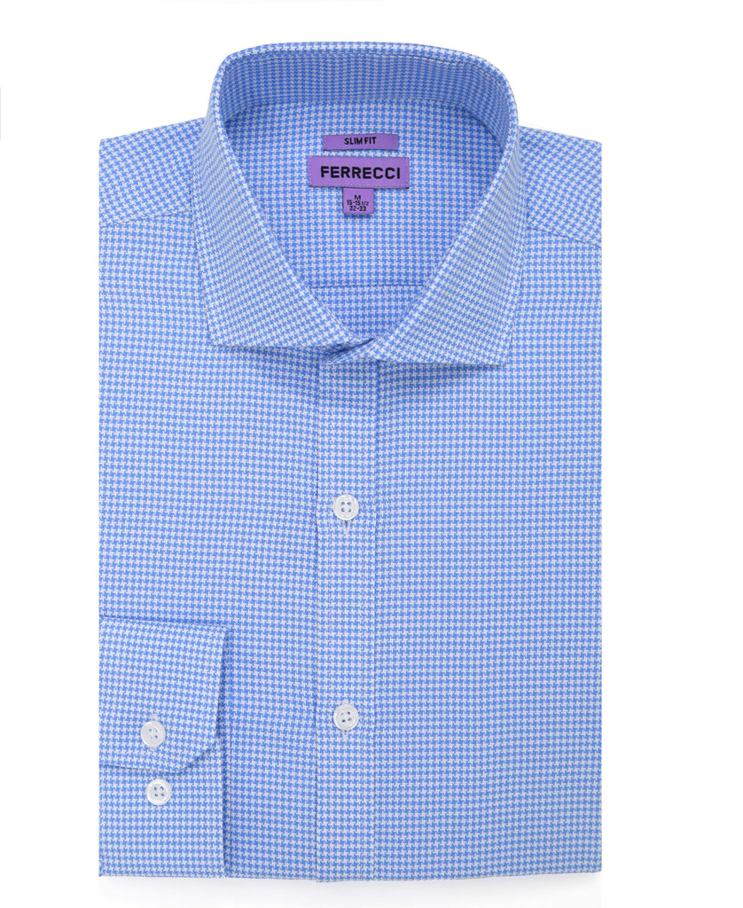 The Knox Slim Fit Cotton Dress Shirt - FHYINC best men