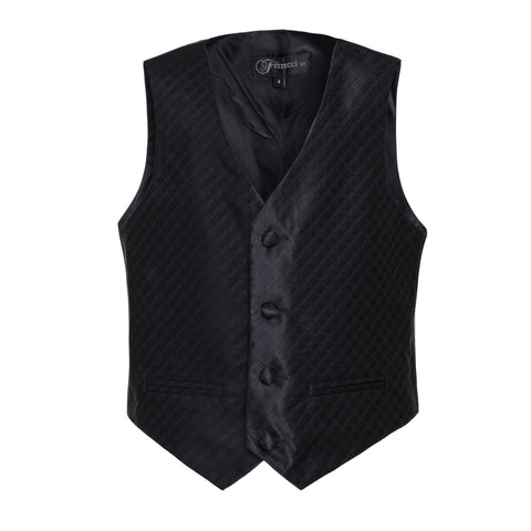 Ferrecci Boys 300 Series Vest Set Black