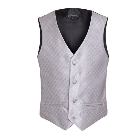 Ferrecci Boys 300 Series Vest Set Silver