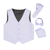 Ferrecci Boys 300 Series Vest Set Lilac - FHYINC best men's suits, tuxedos, formal men's wear wholesale